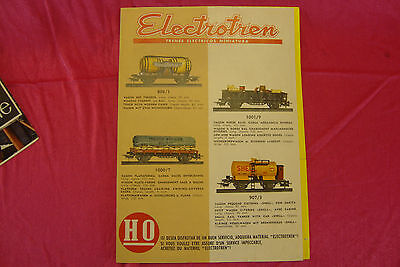 Catalogue Electrotren 4 Pages  Train Ho