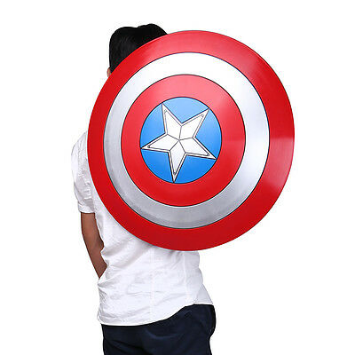 1:1 The Avengers Captain America ABS Shield Brand New 2nd Version of Cattoys Cos