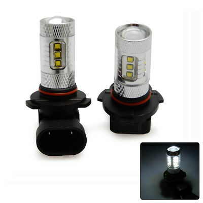 80W LED 9005 Head / Fog Light Bulbs for ATV Quad Honda Foreman Rubicon 450 500
