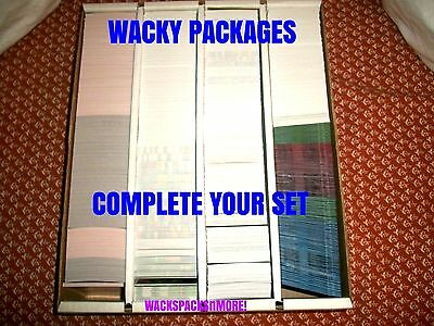 2004-2016 Wacky Packages Ans1 thru 2016-17 Series & More-You Pick Singles-