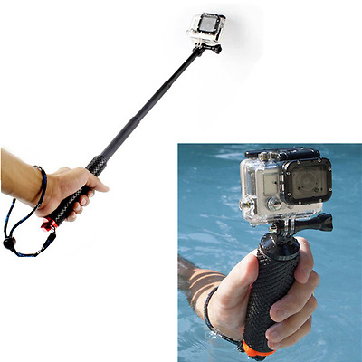 New Waterproof Monopod Handheld Diving Selfie Stick Pole for GoPro Hero SJ4000 C