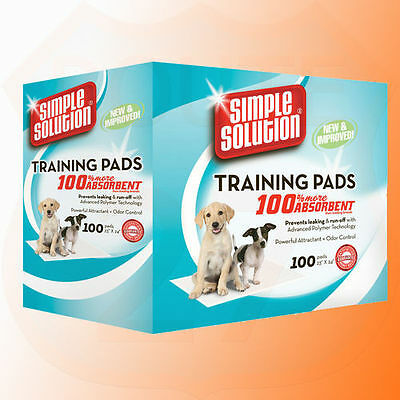 Simple Solution Puppy Toilet Training Pads Pack of 100