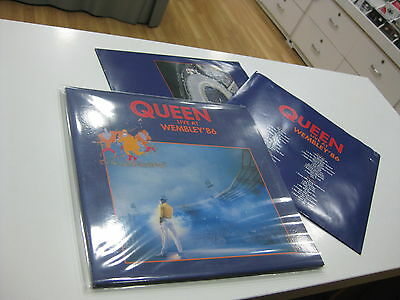 Queen 2 Lp Live At Wembley 86 Poland Edition