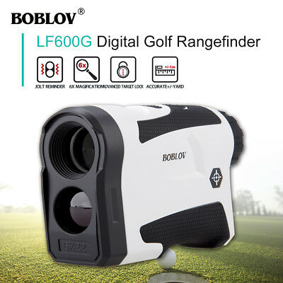 600m Golf Laser Range Finder Distance Meter Measurer Scope PinSeeker New BJ9
