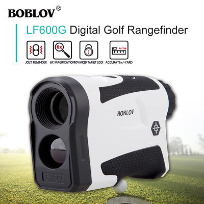600m Golf Laser Range Finder Distance Meter Speed Measurer Scope PinSeeker BJ9