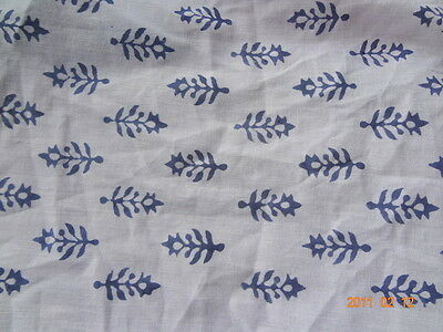 Natural print 100% cotton fabric hand block print fabric Home Decor By The Yards