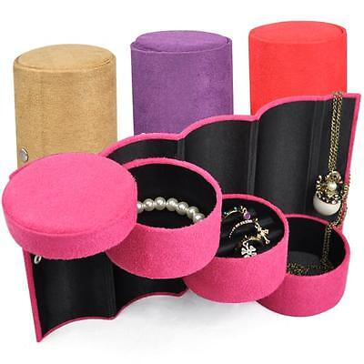 Bracelet Ring Necklace Earring Jewellery Display Stand Case Storage Travel Box