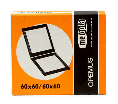 Meopta  6x6cm Negative Carrier Inserts For Opemus 6/6A