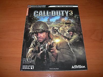 Call Of Duty 3 - Bradygames Official Strategy Guide En Inglés