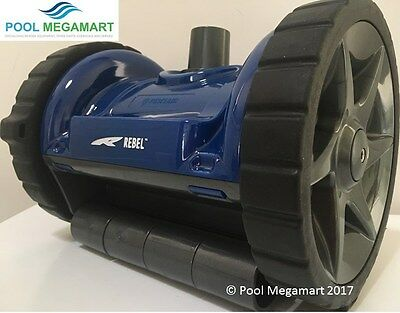 New Rebel Pool Cleaner plus hoses 3 Yr Warranty Pool