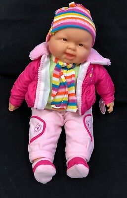 "Real Looking Adorable Baby Doll Sitting Doll 24"", Laughing Doll- 18"". 5 Choices"