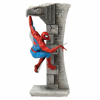 "MARVEL Enesco limitierte Superhelden Skulptur ""SPIDER MAN"" Action Figur - B1602"