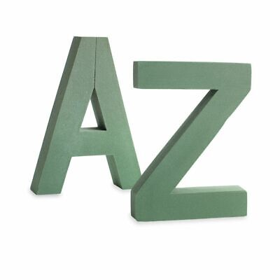 Extra Large Floral Foam  Letters A To Z Name Tribute Funeral Memorial Oasis Type