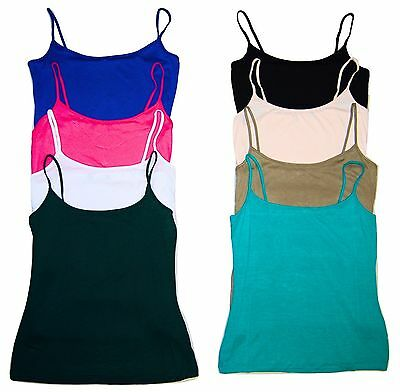 Ladies Womens Strappy Vest Top T Shirt Camisole Ex Chain Sizes 8 10 12 14 16 18