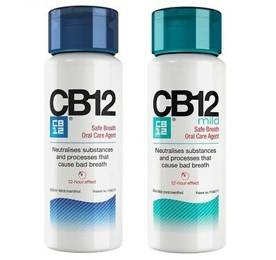Cb12 250Ml Instant Fresh Breath For 12 Hours