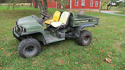 John Deere 4X4 Trail Gator Utility Vehicle 18Hp Liquid Cooled Kawasaki Gas
