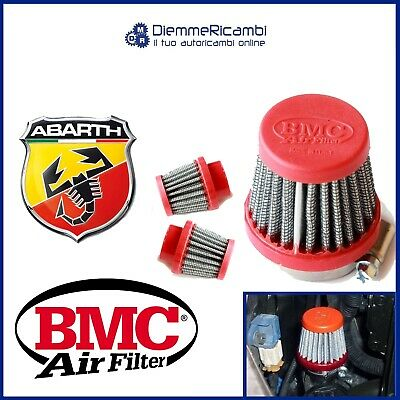 Kit Filtro Conico Bmc Fiat 500 - 595 Abarth Sfiato Esterno Pop Off By Pass