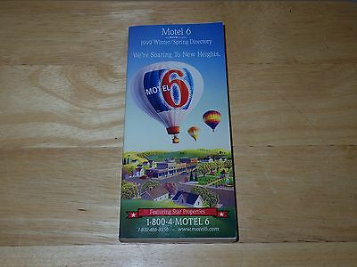 Motel 6 Directory - 1999 Winter/Spring Directory - Used/VGC