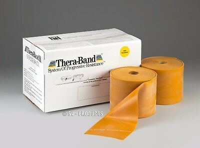 TheraBand Latex MAX Resistance (Gold) Thera-Band Purchase by the FOOT-186