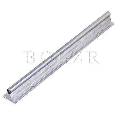 BQLZR L300mm 10mm Shaft Dia Linear Bearing Support Rail CNC Linear Motion