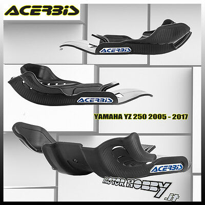 Sottomotore Acerbis Skid Plate Yamaha Yz 250 2005 - 2017 Colore Nero