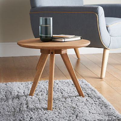 New Jarvis Premium Oak Side Table Multipurpose Table For Living Room & Bedroom