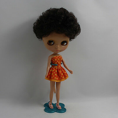 """12/"""" Neo Blythe Doll Dark Skin Factory Nude Doll from Factory JSW75008"""