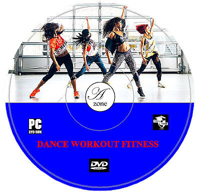 Ministry of Sound Fitness Exercise Workout Cardio Weight Fat Loss DVD