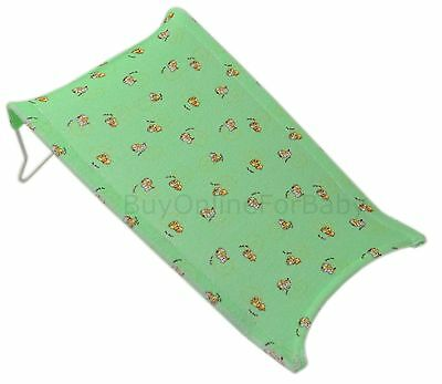 Baby Newborn Infant Safety Water Tub Bath Support Pad Seat Mat Green 3