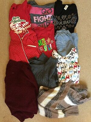 Pre-owned Used Mixed Women Clothes 10 Item Lot Size S/ M Shirts Abercombie Etc