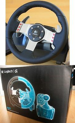 logitech g27 lenkrad f r pc ps3 playstation racing driving. Black Bedroom Furniture Sets. Home Design Ideas