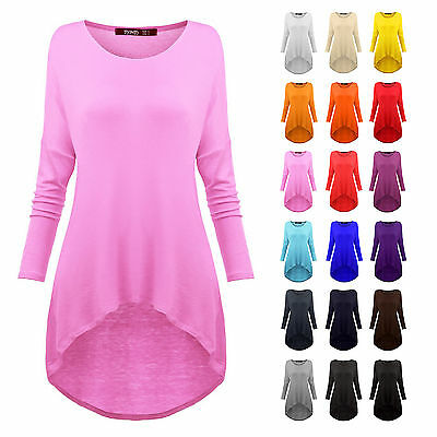 [FINAL SALE] Tunic Top Plus Size Womens Loose Fit Long Tunics XS-5XL