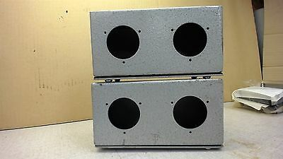 Lot Of Two--Type 1--Junction Box/enclosure