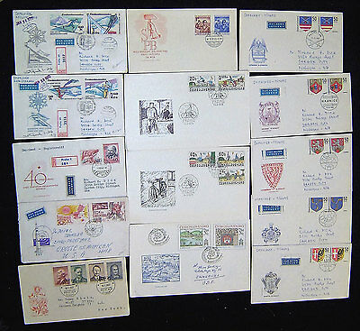 Czechoslovakia Lot of 62 First Day Covers.