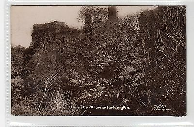 HAILES CASTLE, near HADDINGTON: East Lothian postcard (C25421)