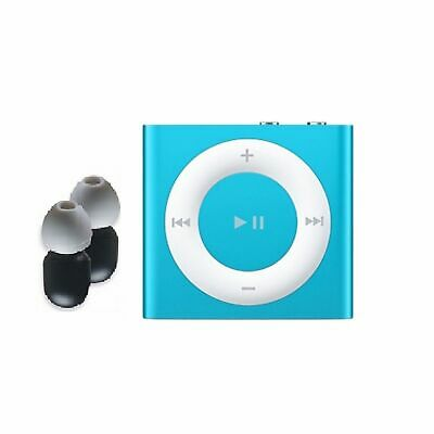 Swim iPOD Shuffle MP3 Player & Buds 100% Waterproof - BLUE - Superior Bundle