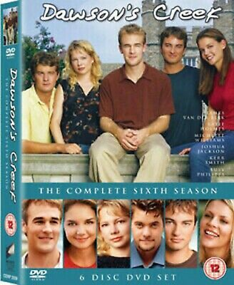 Dawsons Creek Complete Series 6 DVD All Episodes Sixth Season UK Release NEW
