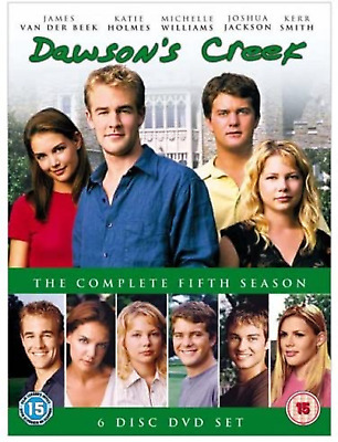 Dawsons Creek Complete Series 5 DVD All Episodes Fifth Season UK Release NEW