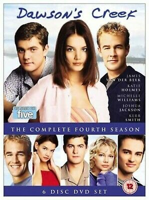 Dawsons Creek Complete Series 4 DVD All Episodes Fourth Season UK Release NEW