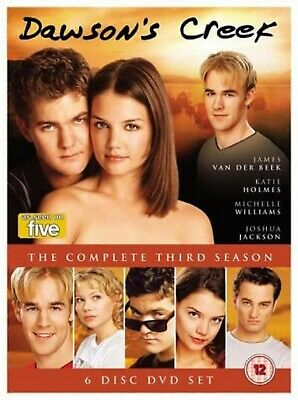 Dawsons Creek Complete Series 3 DVD All Episodes Third Season UK Release NEW