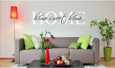 Home Sweet Home Family Wall Decal Love Life Vinyl Decal Home Decor Sticker Art