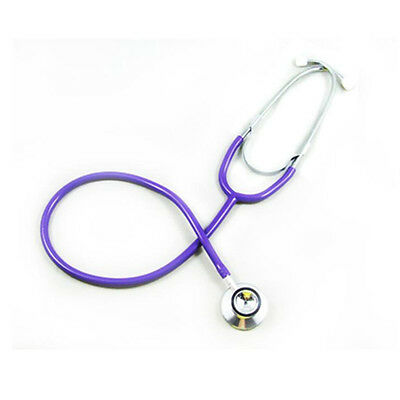 New Nurse Doctor  First Aid Training EMT  Medical Dual Head Stethoscope Purple