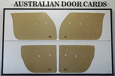 Chrysler Valiant R Series, S Series Door Cards Trim Panels RV1, SV1 Sedan, Wagon