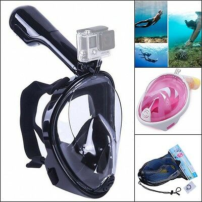 Hot Full Face Scuba Diving Mask Snorkel Breath Tools Swimming Goggle Under Water