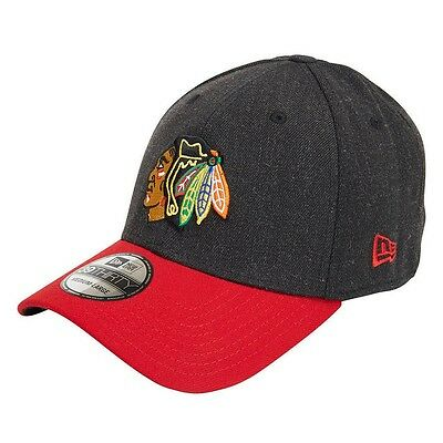 New Era CHICAGO BLACKHAWKS 39THIRTY CHANGE UP CLASSIC CAP-Size M To L Or L To XL