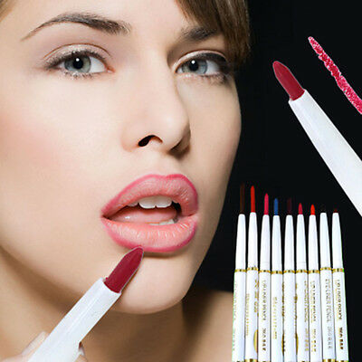 Automatic Rotary Lip Liner Pencil Long-lasting Makeup Waterproof Beauty Tool HOT