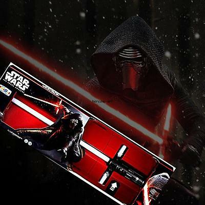 Lightsaber Star Wars The Force Awakens Kylo Ren FX Light Sword Saber Led New