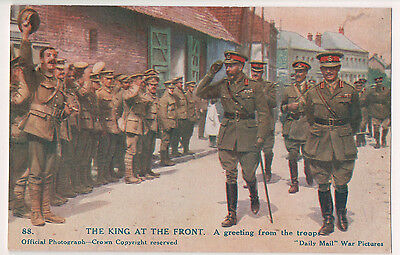 Vintage Postcard King George V of Great Britian Emperor of India