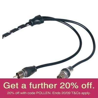 Rockford Fosgate RFIT-6 2m Premium RCA Cable with AUST LOCAL WARRANTY