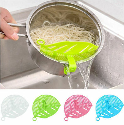 Silicone Soup Funnel Kitchen Gadget Tools Water Deflector Cooking Tool